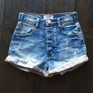 NWOT One Teaspoon High-waisted Shorts